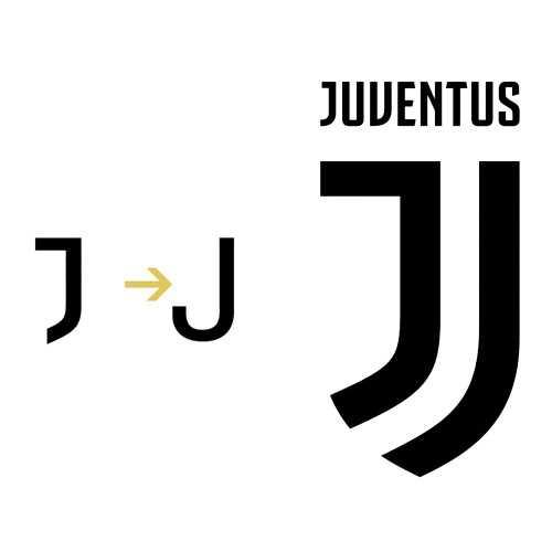 J - Novo escudo da Juventus
