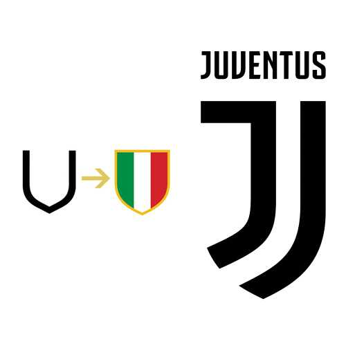 Referência Scudetto - Novo escudo da Juventus