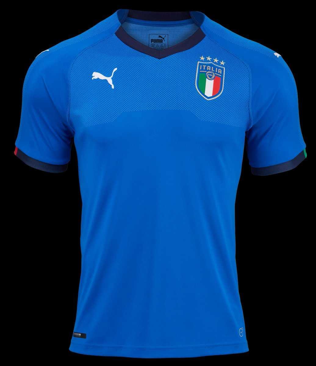 Camisa da seleção italiana 2018