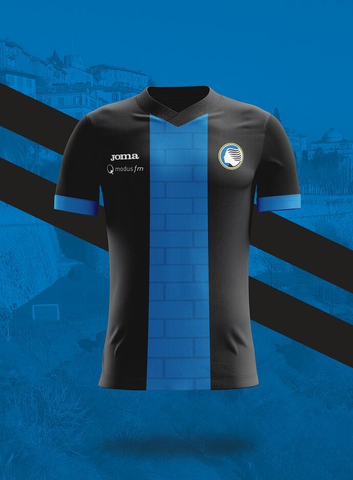 Camisa dos times italianos: Atalanta