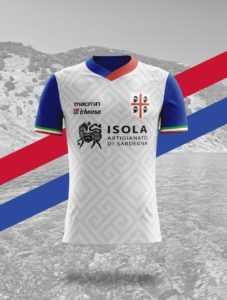 Camisa dos times italianos: Cagliari