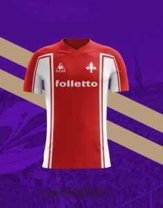 Camisa dos times italianos: Fiorentina