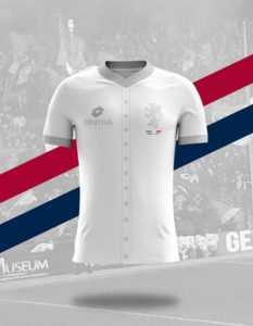 Camisa dos times italianos: Genoa