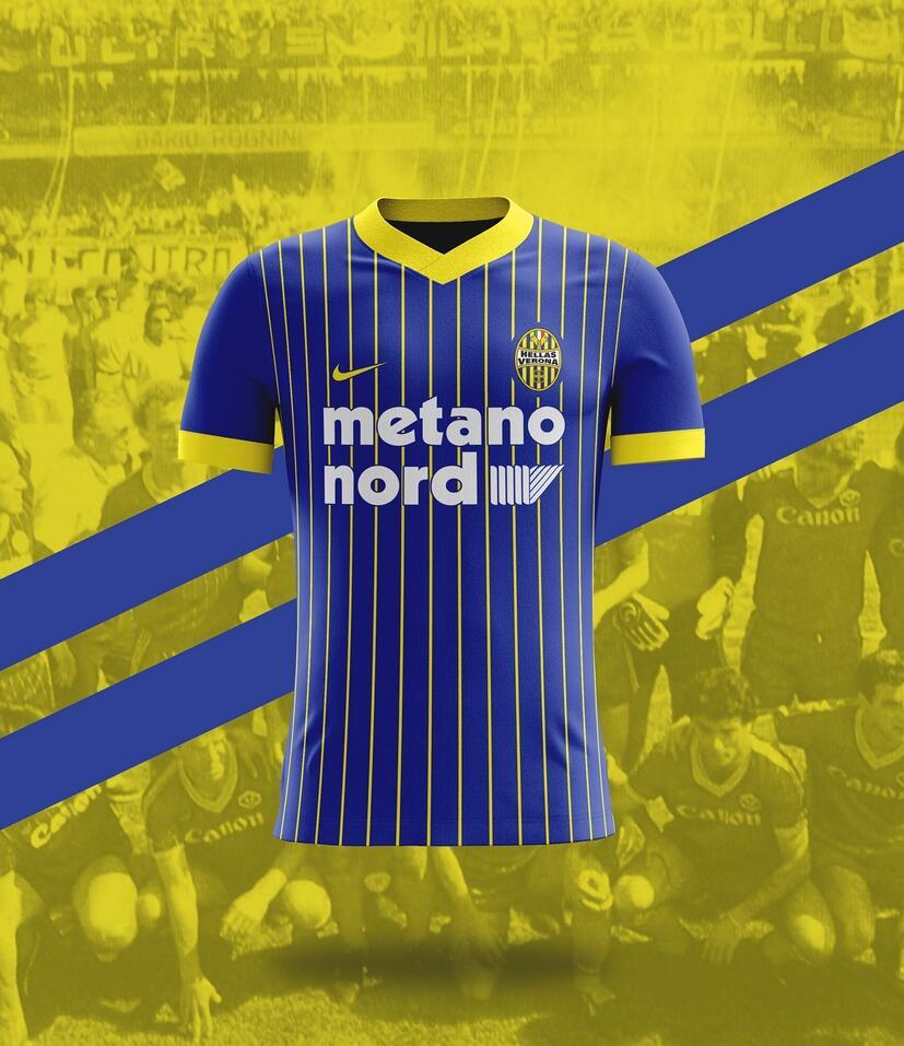 Camisa dos times italianos: Hellas Verona