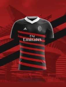 Camisa dos times italianos: Milan