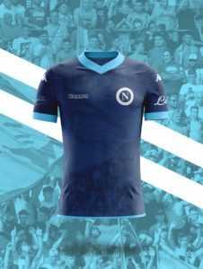 Camisa dos times italianos: Napoli