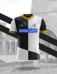Camisa dos times italianos: Udinese