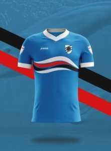 Camisa dos times italianos: Sampdoria
