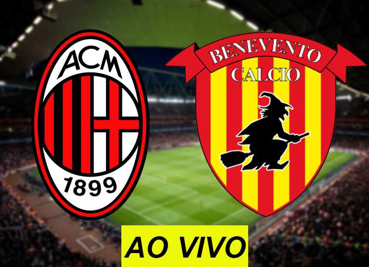 assistir Milan x Benevento ao vivo na TV