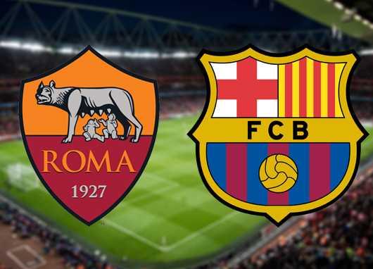 assistir Roma x Barcelona ao vivo
