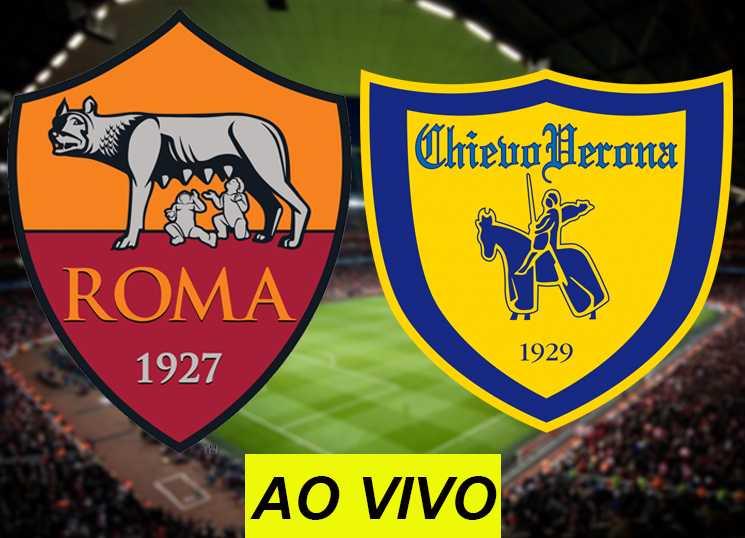 assistir Roma x Chievo Verona ao vivo na TV