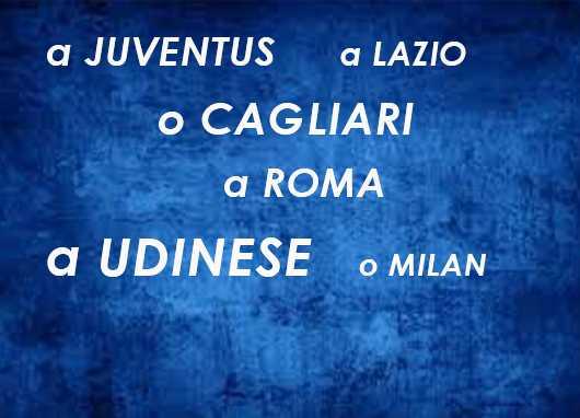 times italianos tem nomes femininos