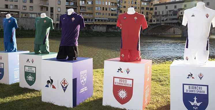 As novas camisas da Fiorentina 2018 2019