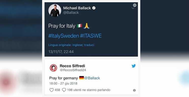 Meme Ballack eliminação da Alemanha