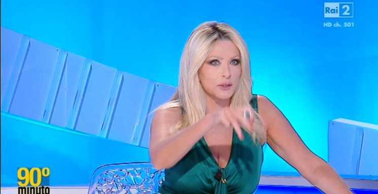 Paola Ferrari apresentadora do 90 minuto