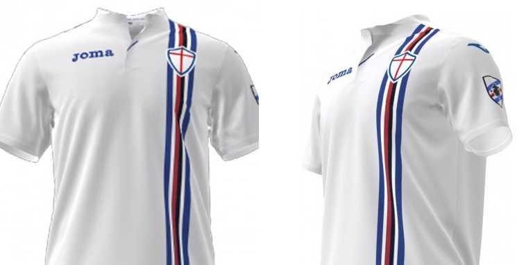 Camisa 2 Sampdoria 2018-2019