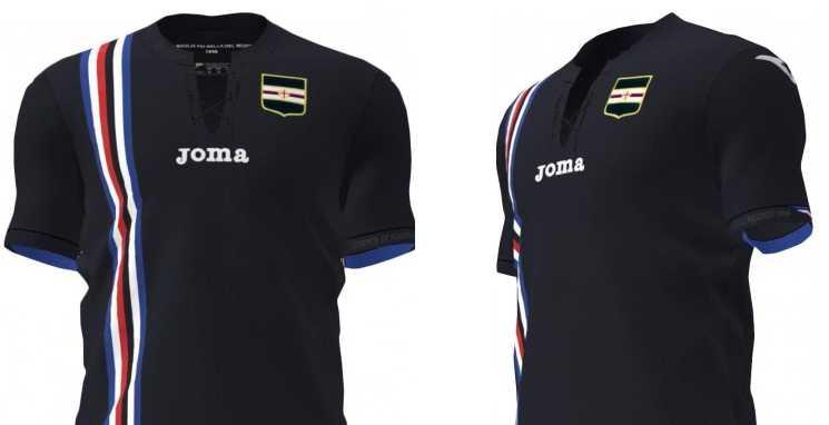 Camisa 3 Sampdoria 2018-2019