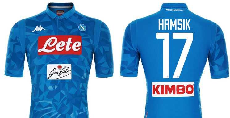 Camisa do Napoli 2018-2019 Hamsik