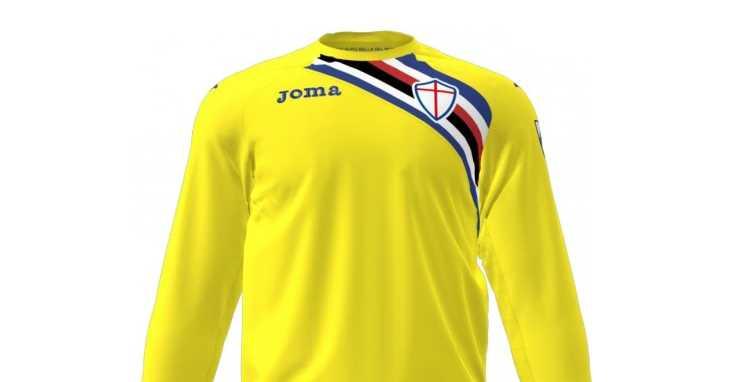 Camisa goleiro Sampdoria 2018-2019