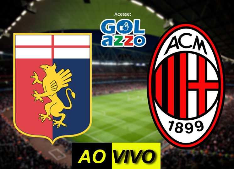 assistir Genoa x Milan ao vivo - campeonato italiano