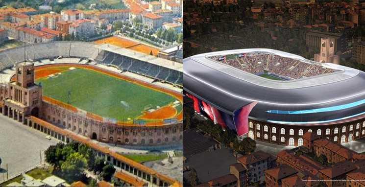 novo estádio do Bologna mudanças 3