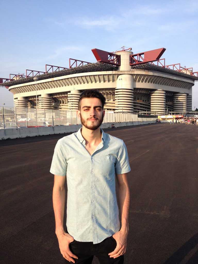 Adriano Bertin San Siro