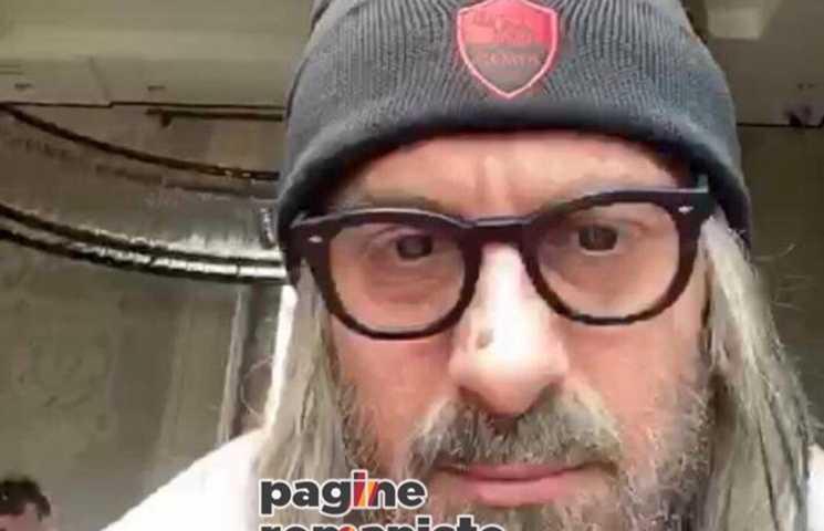 De Rossi disfarce assistir Roma x Lazio