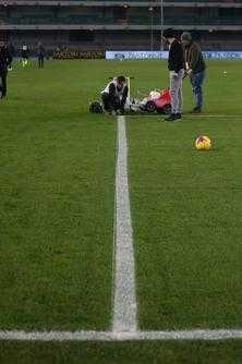 Hellas Verona x Genoa campeonato italiano linhas tortas