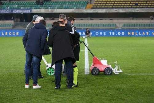Hellas Verona x Genoa campeonato italiano pintura campo