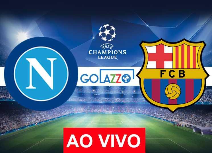 assistir napoli x barcelona ao vivo pela champions league