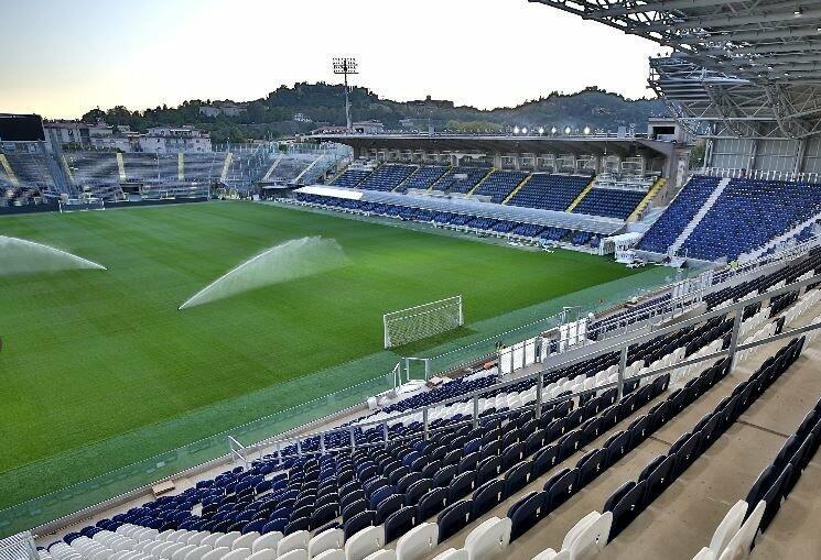 O novo estádio da Atalanta (Gewiss Stadium)