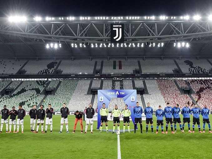 Juventus x Inter sem torcida no campeonato italiano