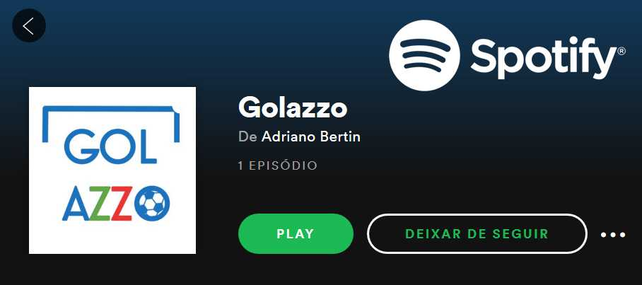 Podcast Golazzo Spotify
