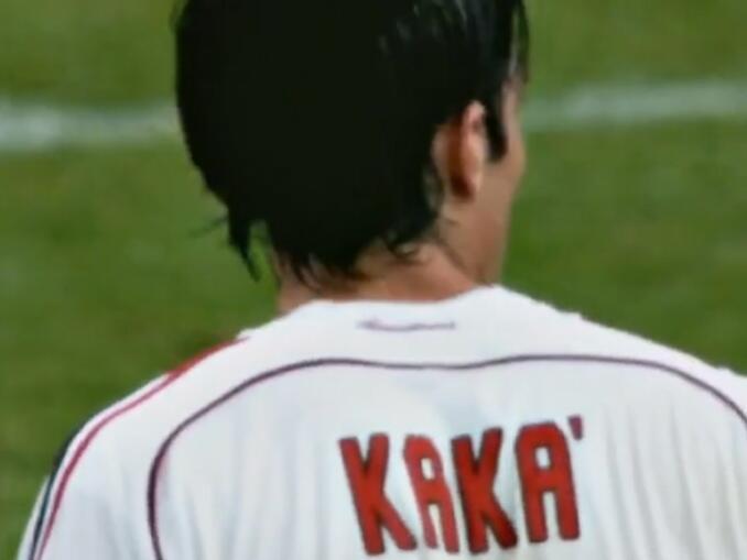 jogadores brasileiros campeonato italiano - Kaká
