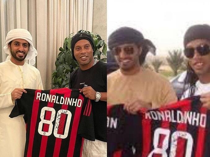 jogadores brasileiros campeonato italiano - Ronaldinho