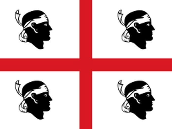 Mascotes do campeonato italiano - Cagliari os 4 moros