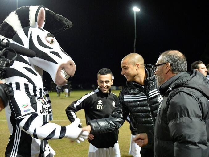 Mascotes do campeonato italiano - Juventus Zebra