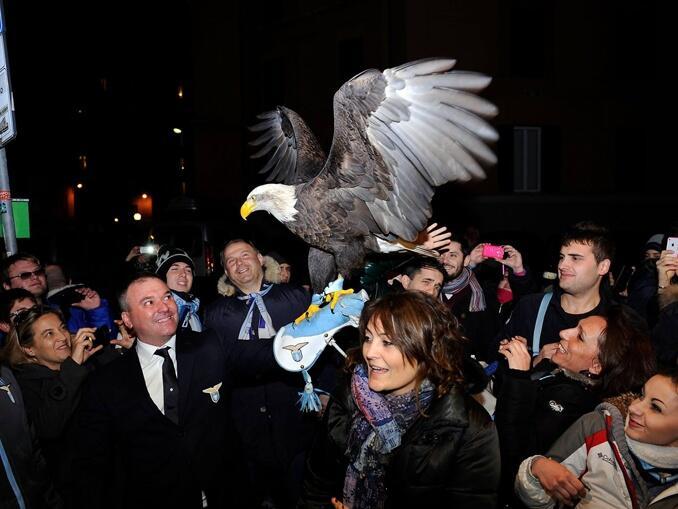 Mascotes do campeonato italiano - Lazio águia