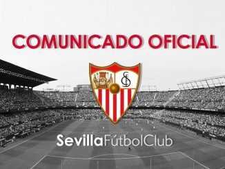 Comunicado Sevilla confirma caso Covid-19