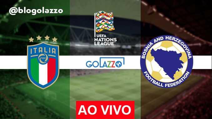 assistir Itália x Bósnia AO VIVO Uefa Nations League