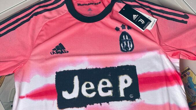 Nova camisa da Juventus rosa Pharell Williams
