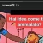Técnico da Itália posta charge: 'doente por assistir jornais'