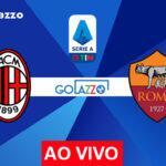 Veja onde assistir Milan x Roma AO VIVO pelo campeonato italiano; escalações