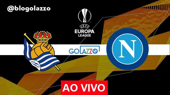 onde assistir real sociedad x napoli ao vivo pela europa league