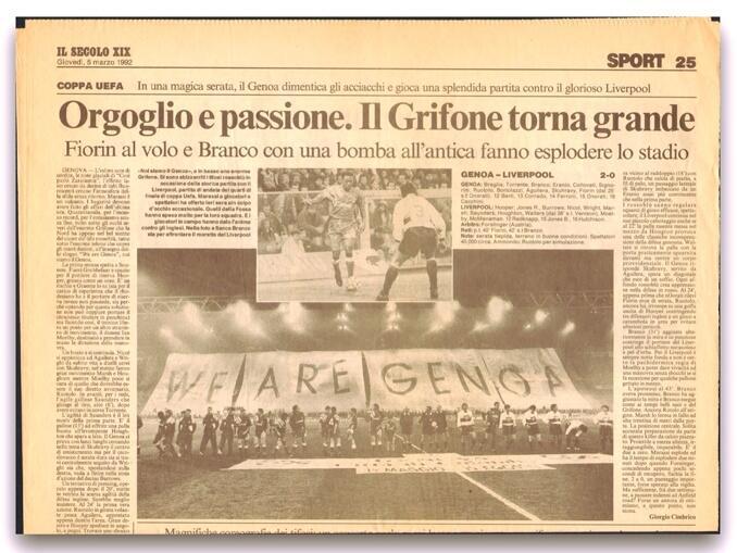 Títulos do Genoa - títulos internacionais