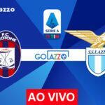 Veja onde assistir Crotone x Lazio AO VIVO pelo campeonato italiano; escalações