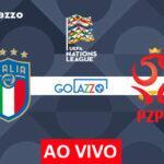 Veja onde assistir Itália x Polônia AO VIVO pela UEFA Nations League; escalações