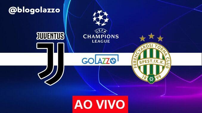 assistir juventus x ferencvaros ao vivo pela champions league