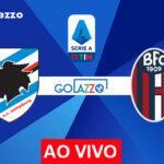 Veja onde assistir Sampdoria x Bologna AO VIVO pelo campeonato italiano; escalações