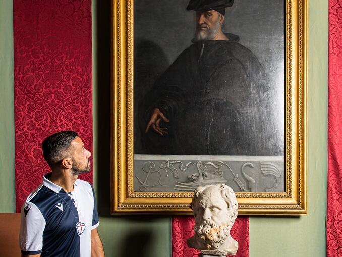 Nova camisa da Sampdoria - 120 anos Andre Doria - Quagliarella